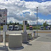 Das praxisnahe Sicherheitskonzept der Euro Rastparks für Lkw greift