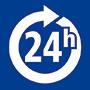 24 h geöffnet / Open 24 hrs / Ouvert 24 heures